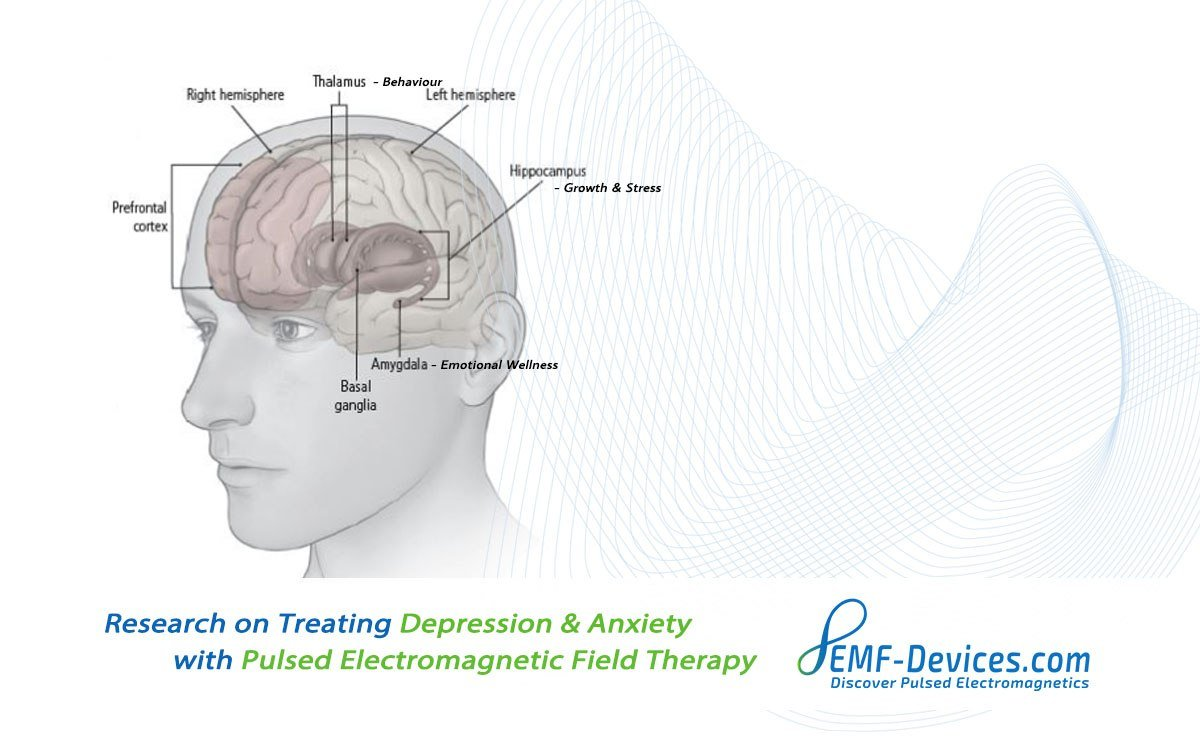 PEMF therapy for depression anxiety mental health