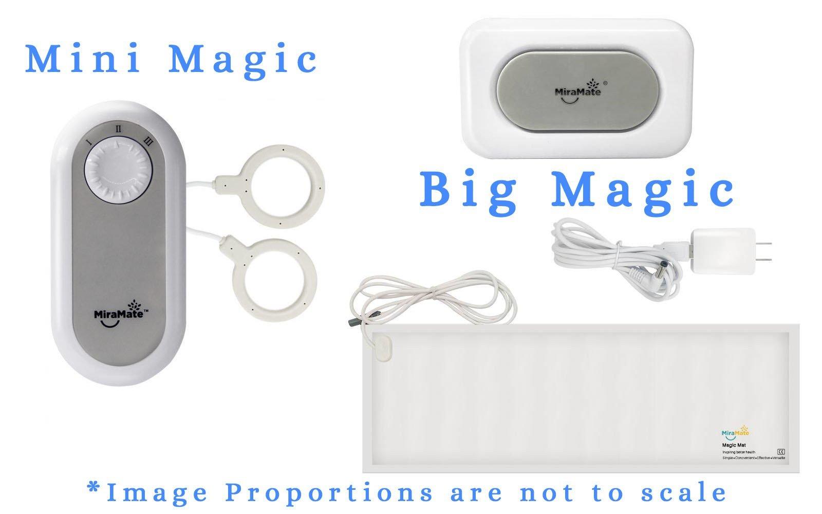 mini magic and big magic pemf systems