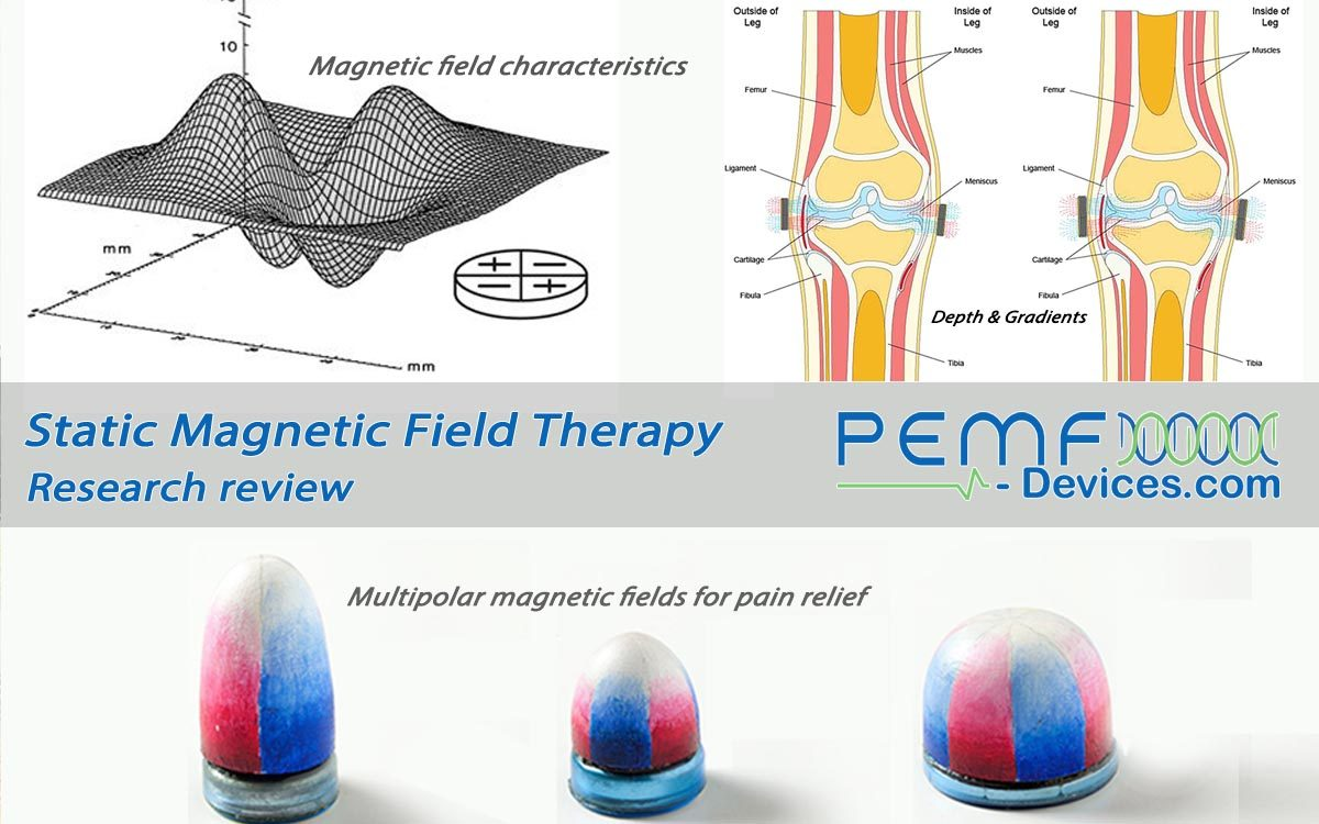 how does magnetic field therapy work for pain relief