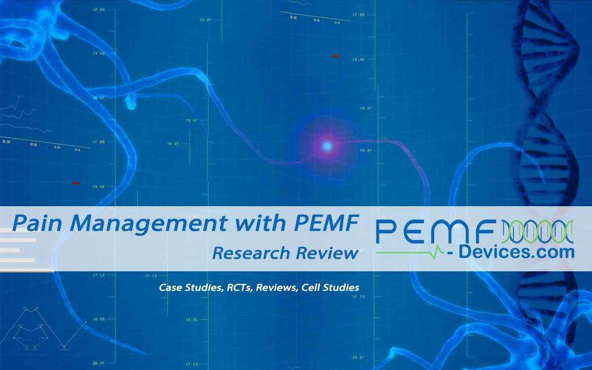 Pulsed electromagnetic field therapy for pain relief and inflammation management