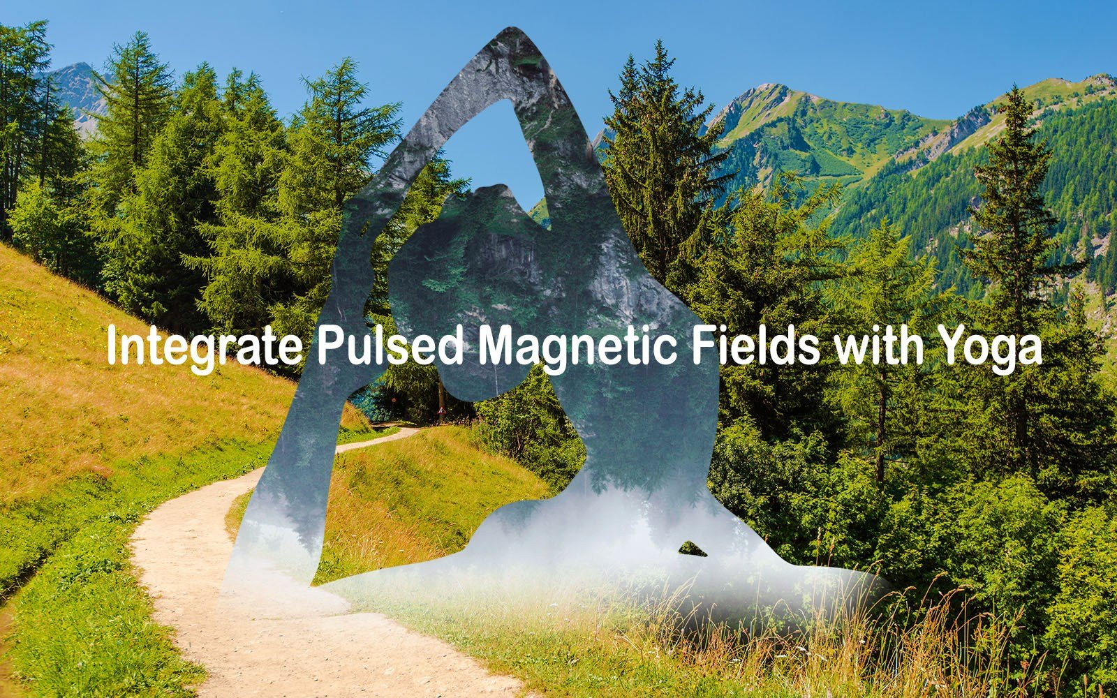 applying magnetic field therapy for yoga improvement