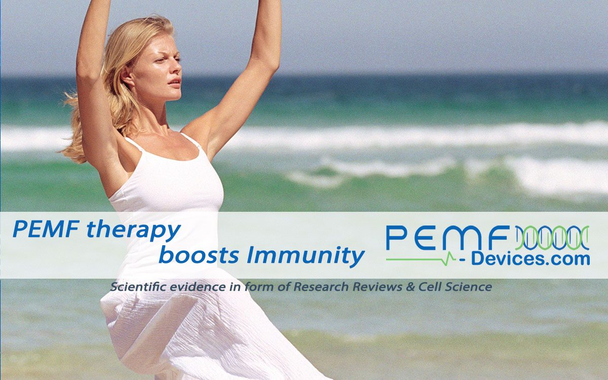 PEMF therapy boosts immunity
