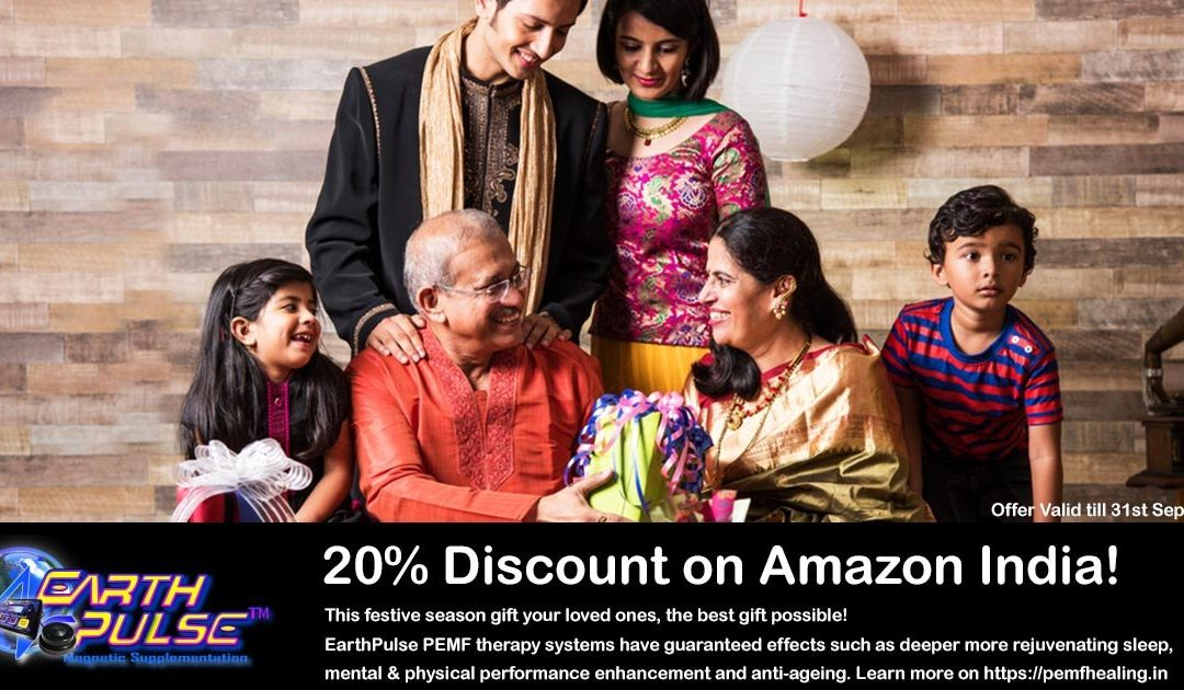 PEMF Therapy Devices at 20% Discount on Amazon India!