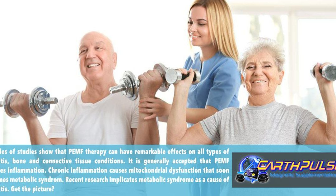 Pulsed ElectroMagnetic Field or PEMF therapy for Arthritis